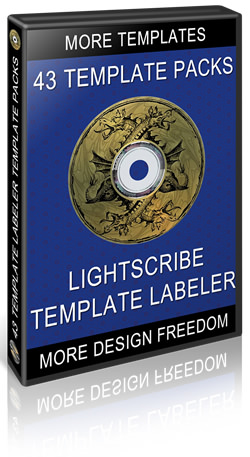 43 Template Packs for the LightScribe Template Labeler