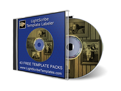 LightScribe Template Labeler Templates
