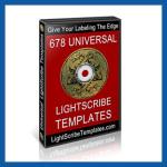 LightScribe Templates Box
