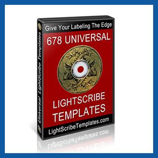Universal LightScribe Templates