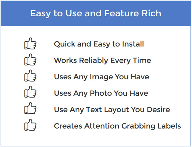 Easy to Use and Feature Rich LightScribe Software