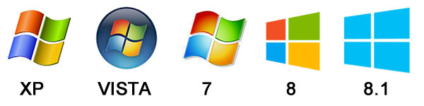 The LightScribe Toolbox works with Windows XP Vista 7 8 and 8.1