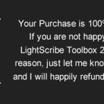 LightScribe Toolbox is 100% Risk Free