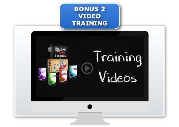 LightScribe Toolbox Premium Video Training