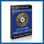 43 LightScribe Template Packs