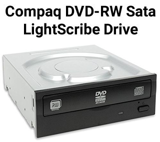 Compaq Internal SATA LightScribe DVD Drive